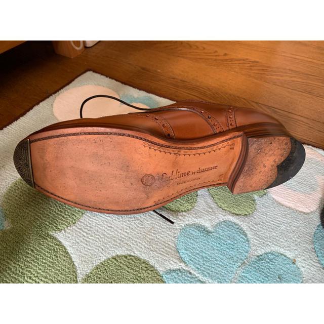 chausser(ショセ)のショセ Sublime ライン ブランデーコードバン  メンズの靴/シューズ(ドレス/ビジネス)の商品写真