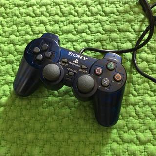 プレイステーション2(PlayStation2)のPS2 コントローラー DUALSHOCK2 クリアブルー(その他)