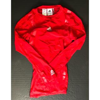 アディダス(adidas)のadidas トレーニングシャツ M(赤)(トレーニング用品)