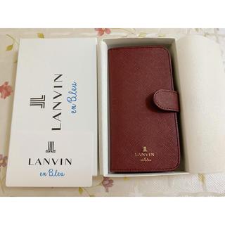 ランバンオンブルー(LANVIN en Bleu)のランバンiPhoneケース6,6S(iPhoneケース)
