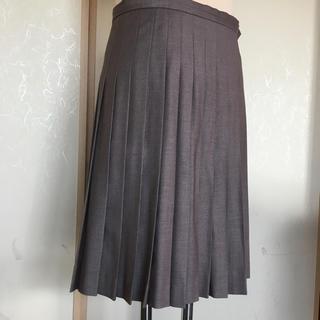 プーラフリーム(pour la frime)の美品★プリーツスカート (ひざ丈スカート)