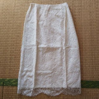 マリリンムーン(MARILYN MOON)のマリリンムーンレースタイトスカート(ひざ丈スカート)
