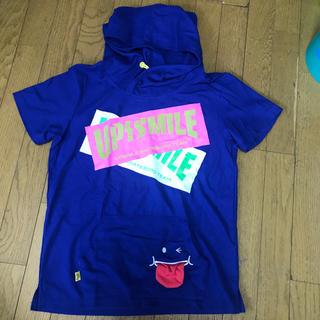 アップルスマイル(APPLE SMILE)のUP!SMILE 半袖 パーカー Tシャツ(Tシャツ(半袖/袖なし))