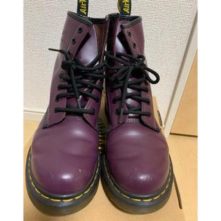 ドクターマーチン(Dr.Martens)のドクターマーチン 8ホール パープル UK5(ブーツ)