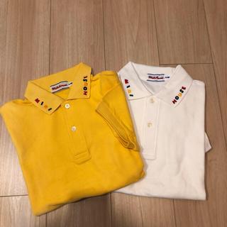ミキハウス(mikihouse)のミキハウス半袖ポロシャツ2枚セット(ポロシャツ)