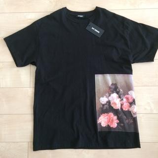 ラフシモンズ(RAF SIMONS)のラフシモンズ  フラワープリントTシャツ(Tシャツ/カットソー(半袖/袖なし))