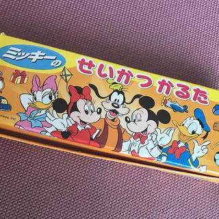 ディズニー(Disney)のミッキーのせいかつ かるた  ディズニー(カルタ/百人一首)