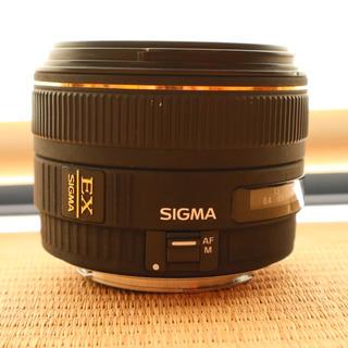 シグマ(SIGMA)のSIGMA 30mm F1.4EX DC HSM 並品 キャノン用 単焦点シグマ(レンズ(単焦点))