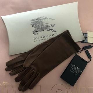 バーバリー(BURBERRY)のバーバリー 革 グローブ(手袋)