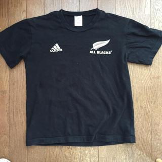 アディダス(adidas)のアディダス オールブラックス Tシャツ kids  160(ラグビー)