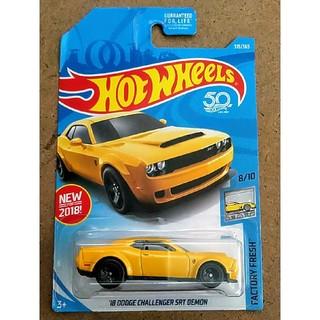 クライスラー(Chrysler)の新品未開封 ホットウィール '18 ダッジ チャレンジャー SRT DEMON(ミニカー)