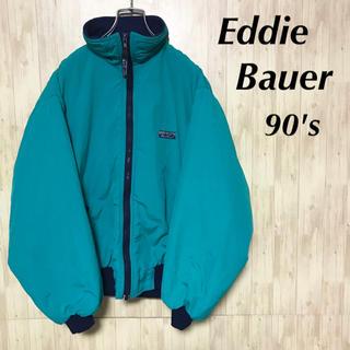 エディーバウアー(Eddie Bauer)の美品 90's EddieBauer ブルゾン US製 ヴィンテージ(ブルゾン)