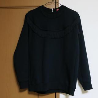 ダブルスタンダードクロージング(DOUBLE STANDARD CLOTHING)のダブルスタンダード フリンジトレーナー(トレーナー/スウェット)