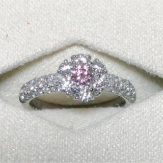 ピンクダイヤモンド FP I1 PTリング(リング(指輪))