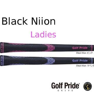 ゴルフプライド(Golf Pride)のグリップ【レディース用】Golf Pride Black Niio(その他)