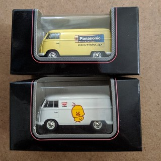 フォルクスワーゲン(Volkswagen)のブルーラリマー様専用ページ 京商サークルKサンクス フォルクスワーゲンバス 2台(ミニカー)