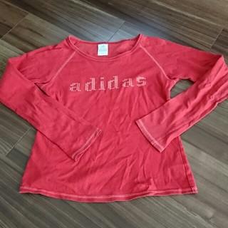 アディダス(adidas)のアディダス 長袖シャツ Mサイズ(Tシャツ(長袖/七分))