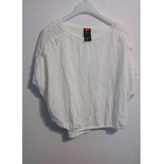 ダブルスタンダードクロージング(DOUBLE STANDARD CLOTHING)のダブルスタンダード、レーストップス(カットソー(半袖/袖なし))