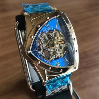コグ(COGU)の特価❗️ コグ COGU フルスケルトン 自動巻き 腕時計 BS0TM-BL(腕時計(アナログ))
