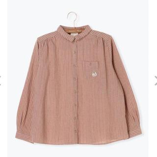 サマンサモスモス(SM2)のSM2 ムーミンポケットワッペン付きシャツ(シャツ/ブラウス(長袖/七分))