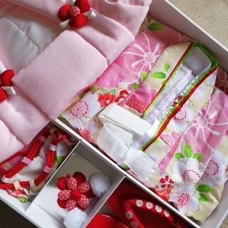 七五三 3歳 被布セット 女の子 着物(和服/着物)