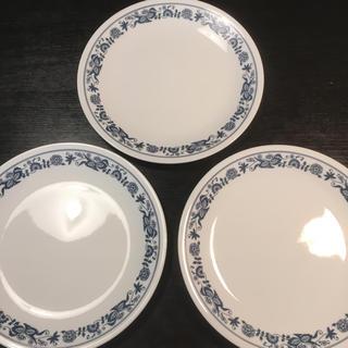 コレール(CORELLE)のCORELLE コレール ブルーオニオン 食器 皿 3枚(食器)