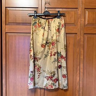 シリリュス(CYRILLUS)のシルク スカート(ひざ丈スカート)