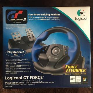 プレイステーション2(PlayStation2)のロジクール GT FORCE Logicool PS2 GTフォース(その他)