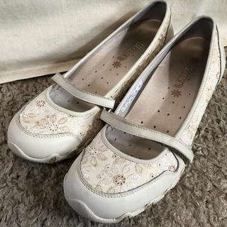 スケッチャーズ(SKECHERS)のSkechers 27cm 大きいサイズ  プロフェッショナル 靴 ベージュ(バレエシューズ)