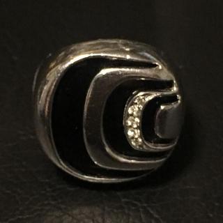 ダミアーニ(Damiani)のDAMIANI ダミアニッシマリング シルバー オニキス ダイヤ 12号程度(リング(指輪))