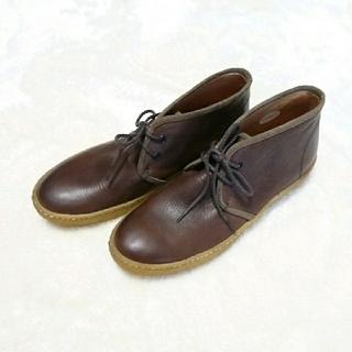 サヤ(SAYA)のSAYA ショートブーツ 25cm(ブーツ)
