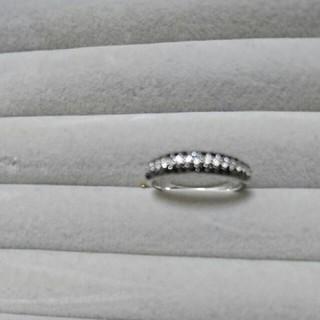 ブラックダイヤ指輪(リング(指輪))