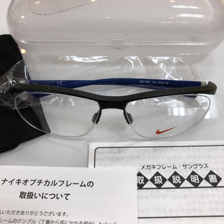 ナイキ(NIKE)のNIKE ナイキ 7070/2 078 メガネ 眼鏡 フレーム 新品 正規品(サングラス/メガネ)