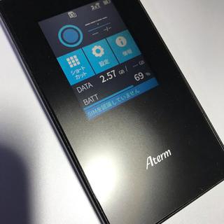 エヌイーシー(NEC)のNEC  SIMフリー モバイルルータ Aterm MR05LN(PC周辺機器)