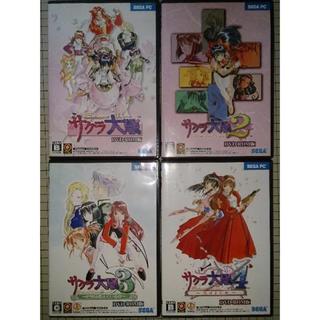 SEGA - 【美品】サクラ大戦1〜4 DVD-ROM版 win8対応
