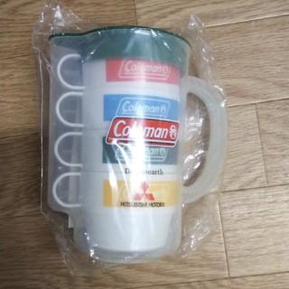 コールマン(Coleman)のプラカップ&ピッチャーセット(グラス/カップ)