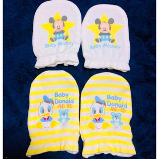 ディズニー(Disney)の新品未使用❤️ベビー手袋❤️(手袋)