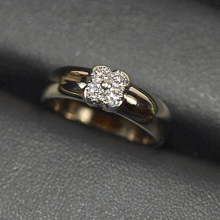 ミキモト(MIKIMOTO)のミキモト MIKIMOTO ダイヤモンド プラチナ リング (リング(指輪))