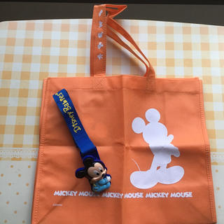ディズニー(Disney)のディズニートートバッグ&ディズニー ベビーカークリップ(ベビーカー用アクセサリー)
