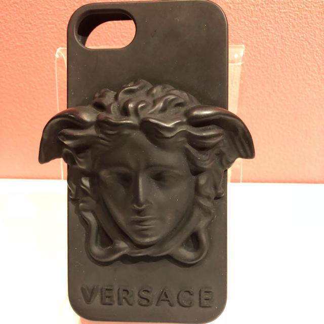 モレスキン iphone ケース / VERSACE - 新品未使用     ベルサーチ   スマホケースの通販 by マルムス's shop|ヴェルサーチならラクマ