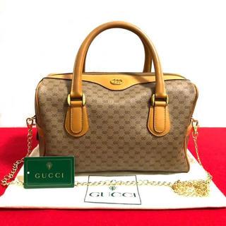 dbd889fc35e6 グッチ(Gucci)の美品 グッチ オールドグッチ 2way ミニ ボストンバッグ ショルダーバッグ