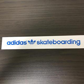 アディダス(adidas)の【縦3.2cm横20.5cm】 adidas skateboardステッカー(ステッカー)