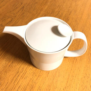 ハクサントウキ(白山陶器)の白山陶器 ミストホワイト ポット大(食器)