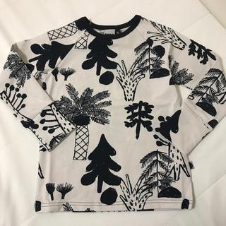 ボボチョース(bobo chose)のPAPU キッズ ロンT 100 110(Tシャツ/カットソー)