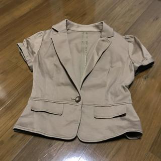 ミッシェルクラン(MICHEL KLEIN)の半袖  スーツ  ジャケット  (スーツ)