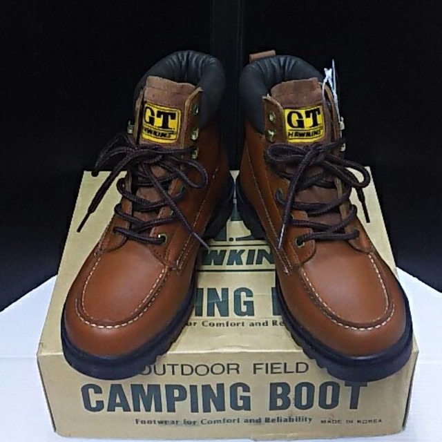 G.T. HAWKINS(ジーティーホーキンス)の最値!未使用品!GT HAWKINSホーキンス高級牛革レザーブーツ 25.5 メンズの靴/シューズ(ブーツ)の商品写真