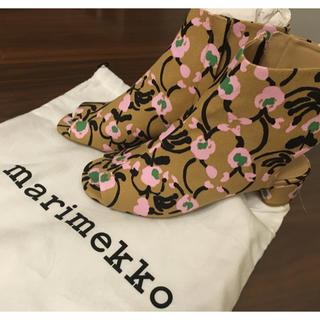 マリメッコ(marimekko)のマリメッコ 靴 新品 春(ブーツ)