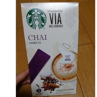スターバックスコーヒー(Starbucks Coffee)の☆新品☆スターバックスヴィアティーエッセンスチャイ(茶)