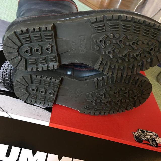 HUMMER(ハマー)のHUMMER  レインブーツ   25 レディースの靴/シューズ(レインブーツ/長靴)の商品写真