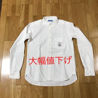 ディズニー(Disney)のTokyo Disney RESORT オフィシャル 白シャツ Mサイズ(シャツ/ブラウス(長袖/七分))